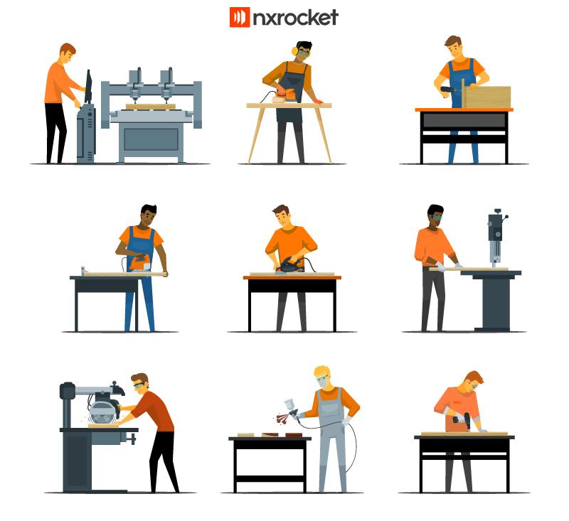 Marcenaria e automatização de processos